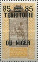 [Upper Senegal and Niger Postage Stamps & Not Issued Surcharged, Typ B5]