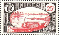 [Boat on Niger River, Typ D1]
