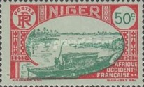 [Boat on Niger River, Typ D6]