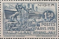 [International Colonial Exposition, Paris, Typ I]