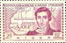 [The 100th Anniversary of the Death of Rene Caillie, 1799-1838, Typ R1]