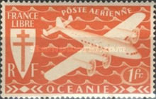[Airmail - Free France, Typ AW]