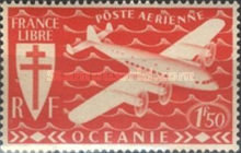 [Airmail - Free France, Typ AW1]
