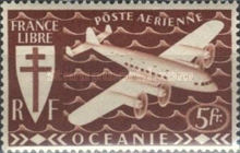 [Airmail - Free France, Typ AW2]
