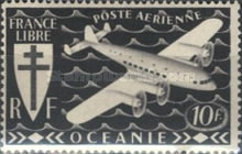 [Airmail - Free France, Typ AW3]