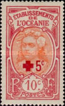 [Red Cross Charity - Small Paris Overprint, Typ B14]