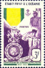 [The 100th Anniversary of the Military Medal, Typ BW]