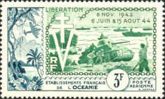 [Airmail - The 10th Anniversary of D-Day, Typ BY]