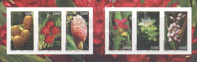 [Flowers of Polynesia - Self Adhesive Stamps, Typ ]