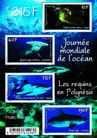 [World Ocean Day - Sharks in Polynesia, Typ ]