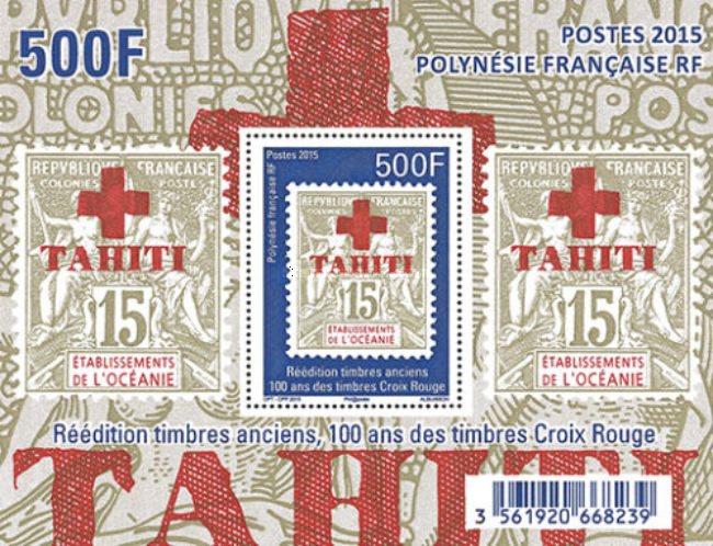 [The 100th Anniversary of the Tahiti Red Cross Stamps, Typ ]