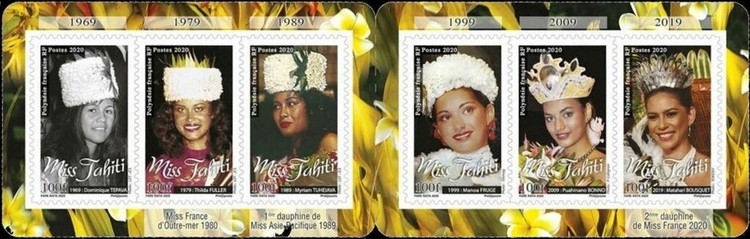 [Miss Tahiti through the Ages - 1969-2019, Typ ]