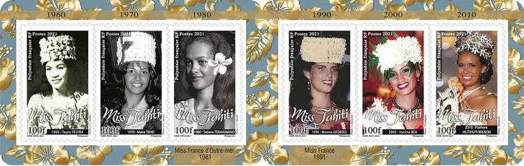 [Miss Tahiti though the Ages, type ]