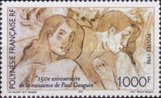 [The 150th Anniversary of the Birth of Paul Gauguin, Artist, Typ ABO]