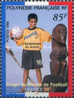 [French Victory in the Football World Cup - France, Typ ABP1]