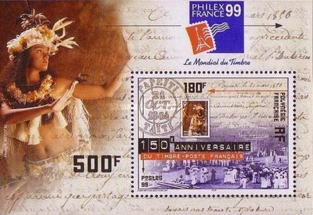[The 150th Anniversary of the First French Stamp, Typ ACX1]