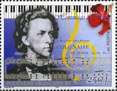 [The 150th Anniversary of the Death of Frederic Chopin, Composer, Typ ACY]