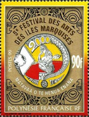 [The 5th Anniversary of the Marquesas Islands' Art Festival, Typ ADH]