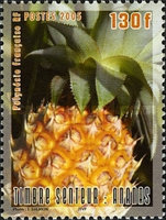 [Scent Postage Stamp - Pineapple, Typ AIU]