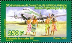[The 10th Anniversary of Air Tahiti Nui - 50th Anniversary of the France Polynesia Air Service, Typ AME]