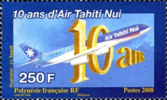 [The 10th Anniversary of Air Tahiti Nui - 50th Anniversary of the France Polynesia Air Service, Typ AMF]