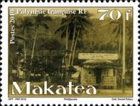 [Makatea - The 100th Anniversary of the Phosphate Mine Working, Typ AOJ]