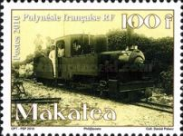 [Makatea - The 100th Anniversary of the Phosphate Mine Working, type AOK]