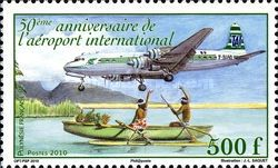 [The 50th Anniversary of the International Airport, type APA]