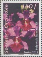 [Orchid Scented Stamp, type AQA]