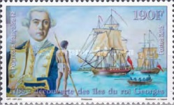 [The 180th Anniversary of the Discovery of King George Island, Typ AUW]