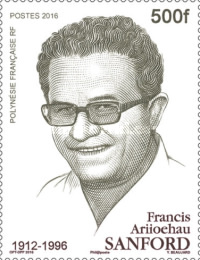 [The 20th Anniversary of the Death of Francis Ariiochan Sanford, 1912-1996, Typ AWO]