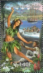 [The Route of Bounty - joint Issue with Pitcairn Islands, Typ AXI]