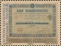 [Historical Share Certificates, type BAR]