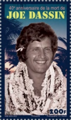 [The 40th Anniversary of the Death of Joe Dassin, 1938-1980, type BAW]