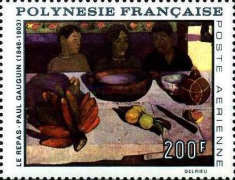 [Airmail - Painting by Gauguin, Typ CA]