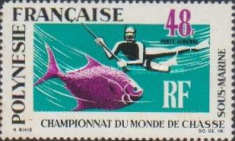 [Airmail - World Underwater Fishing Championships, Typ CI]