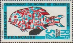[Airmail - World Underwater Fishing Championships, Typ CJ]