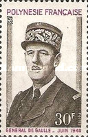 [The 1st Anniversary of the Death of Charles de Gaulle, 1890-1970, Typ EF]
