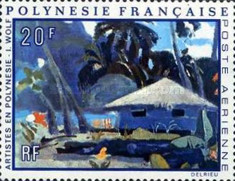 [Airmail - Paintings by Artists Living in French Polynesia, Typ EH]
