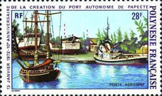 [Airmail - The 10th Anniversary of the Papeete Free Port, Typ EN]
