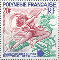 [Airmail - Winter Olympic Games - Sapparo, Japan, Typ EO]