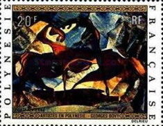 [Airmail - Paintings by Artists Living in French Polynesia, Typ EU]