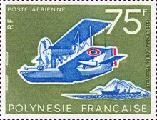 [Airmail - The 50th Anniversary of the Tahitian Aviation, Typ GD]
