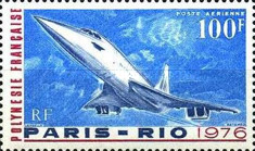 [Airmail - First Commercial Flight of the Concorde, Paris to Rio, Typ GS]