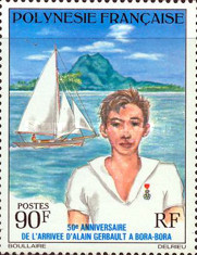 [The 50th Anniversary of the Alain Gerbault's Arrival in Bora-Bora, Typ HA]