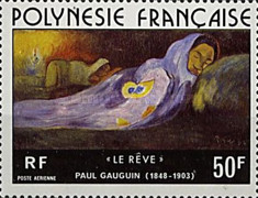 [Airmail - Painting by Poul Gauguin, 1848-1903, Typ HH]