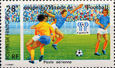 [Airmail - Football World Cup - Argentina, Typ IN]