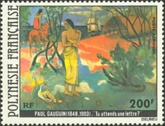 [Airmail - Painting by Poul Gauguin, Typ JL]