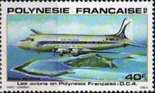 [Airmail - Planes used in Polynesia, Typ JX]