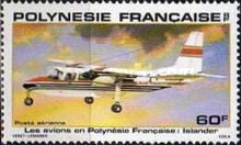 [Airmail - Planes used in Polynesia, Typ JY]